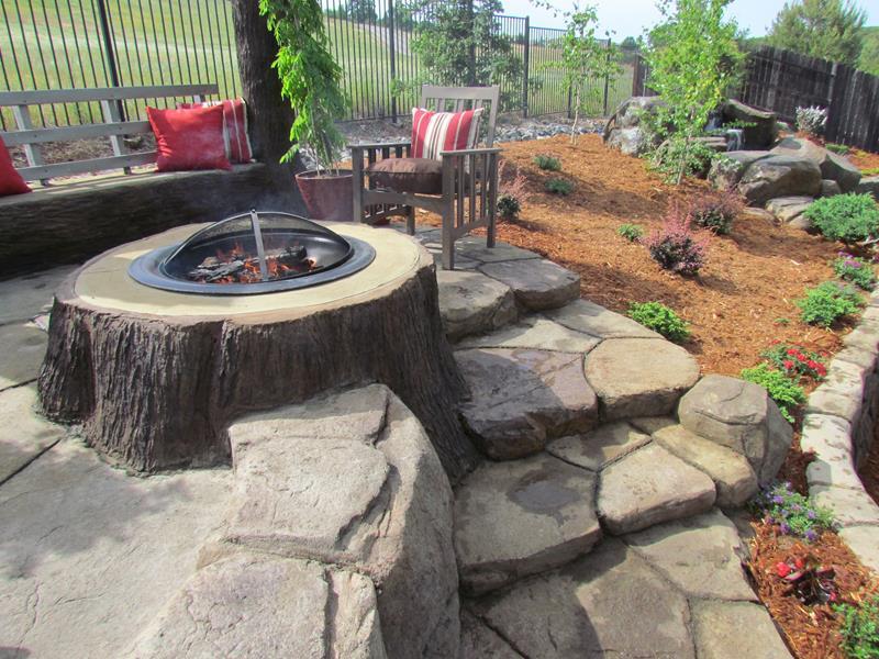 23 Backyard Fire Pit Designs-16