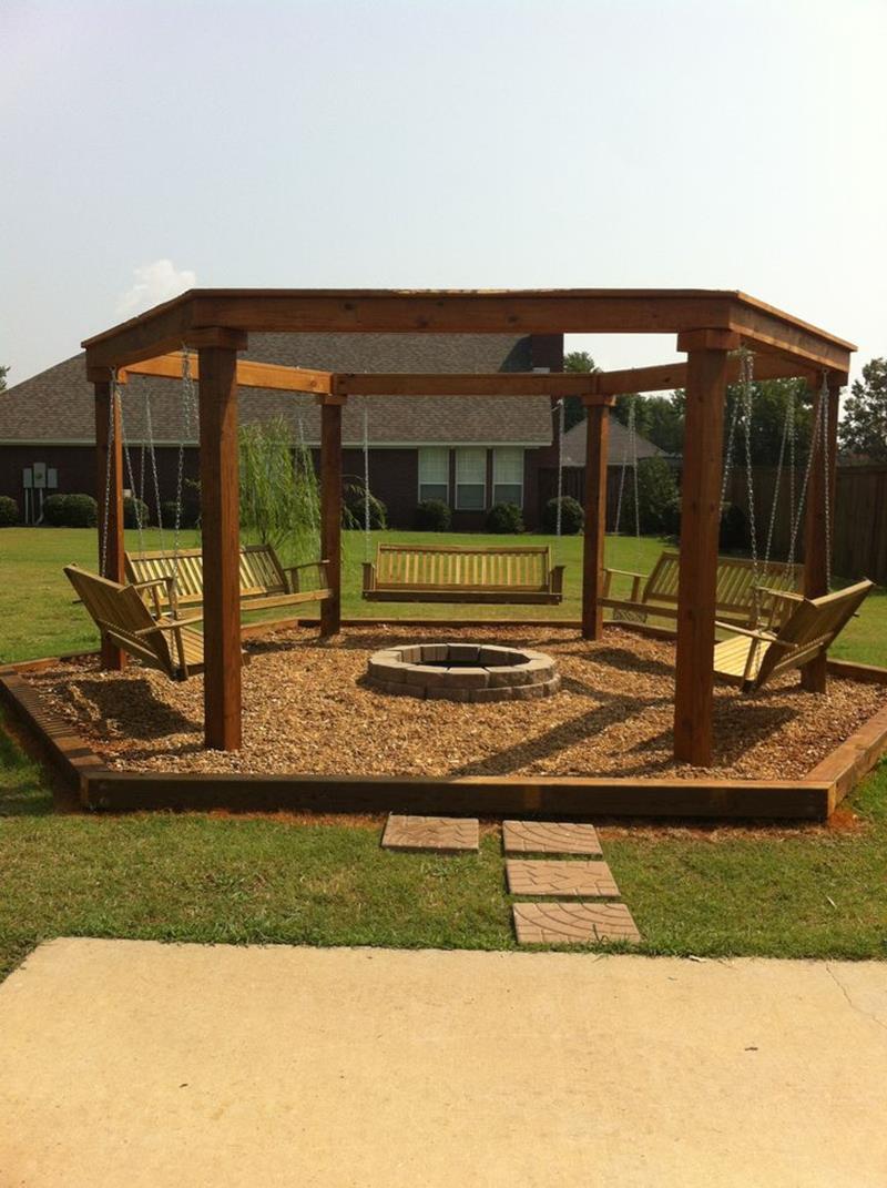 23 Backyard Fire Pit Designs-21