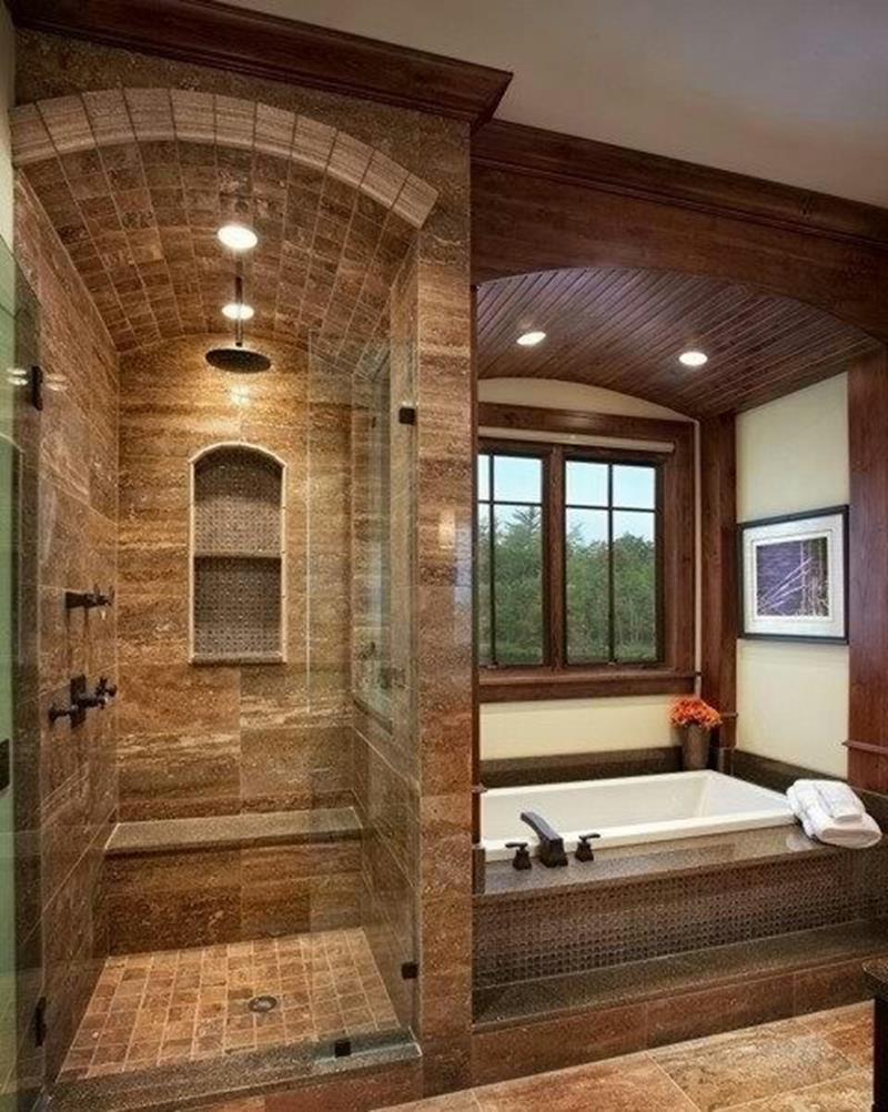 24 Beautiful Ideas for Master Bathroom Windows-12