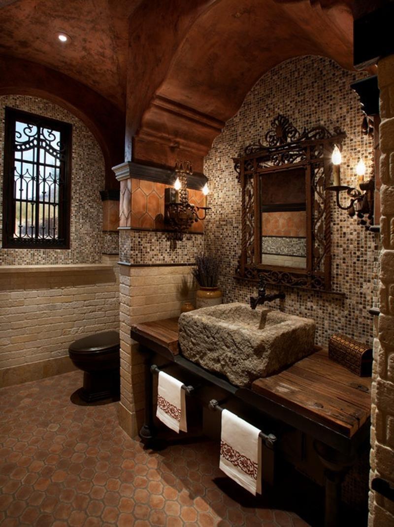 24 Beautiful Ideas for Master Bathroom Windows-14