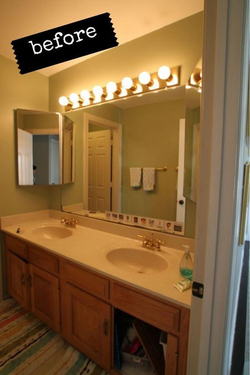 24 Pictures of Before and After Bathrooms with Cost-4