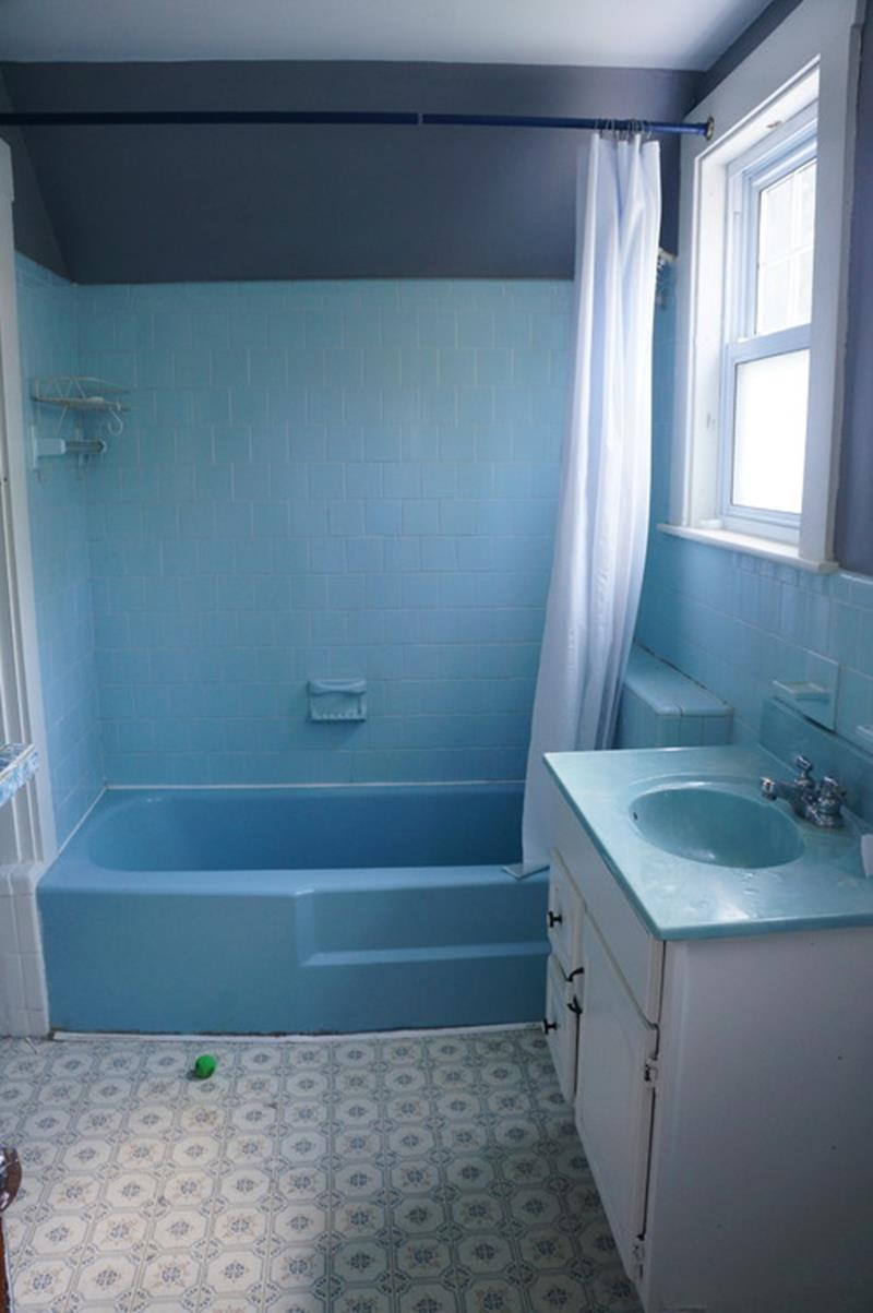 24 Pictures of Before and After Bathrooms with Cost-6