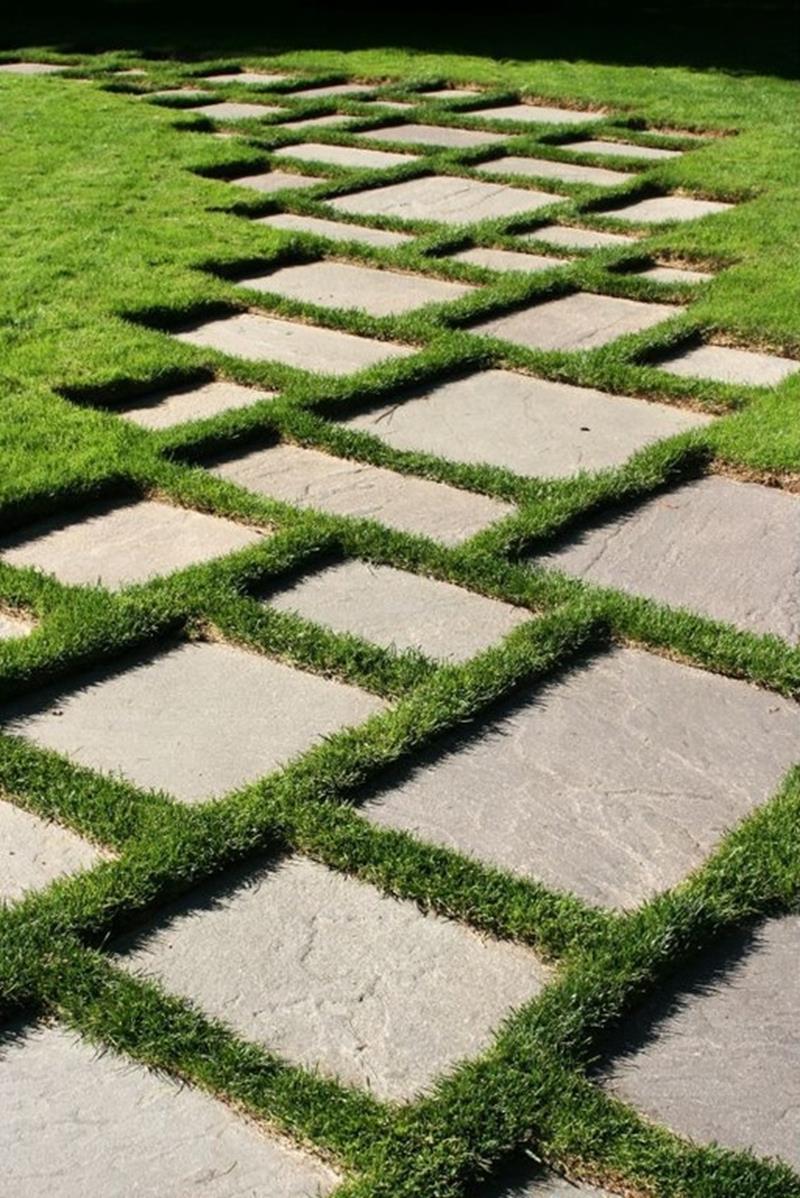 25 Beautiful Ideas for Garden Paths-10