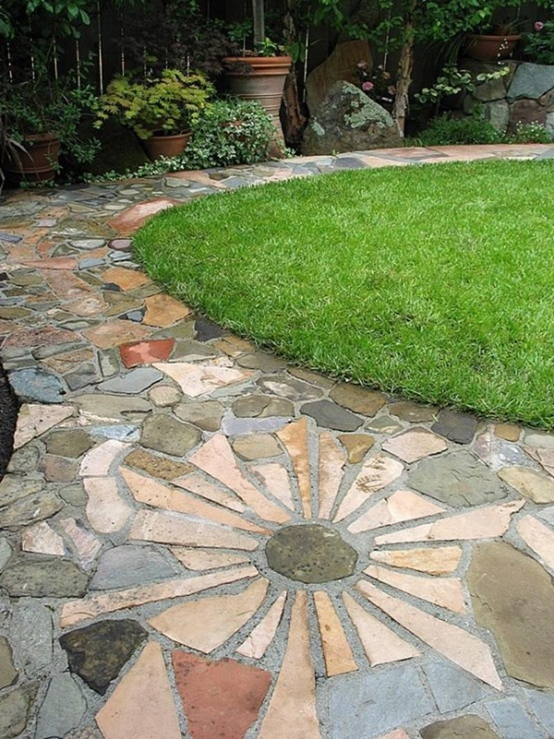 25 Beautiful Ideas for Garden Paths-12