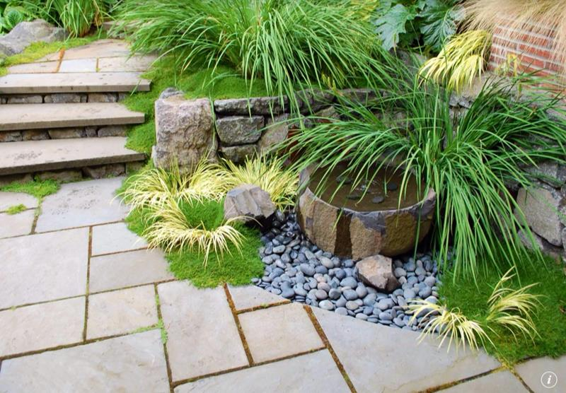 25 Beautiful Ideas for Garden Paths-13