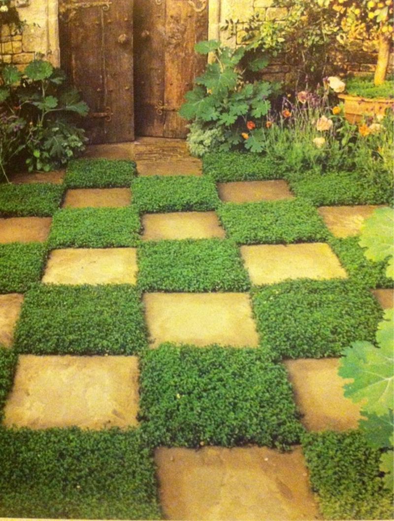 25 Beautiful Ideas for Garden Paths-6