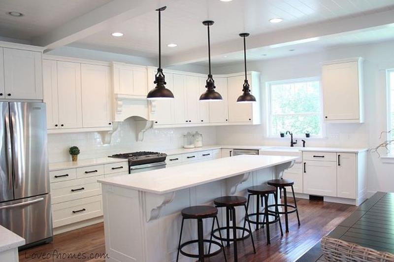 14 Pictures of a Jaw Dropping Kitchen Renovation-9