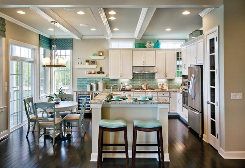 19 Brilliants and Beautiful Kitchen Backsplash Ideas-12