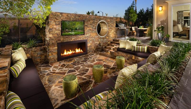 20 Gorgeous Backyard Patio Designs and Ideas-10