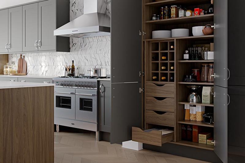 image named 15 Amazing Chefs Pantry Design Ideas 13