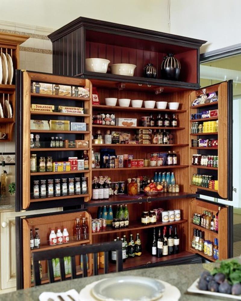 image named 15 Amazing Chefs Pantry Design Ideas 8