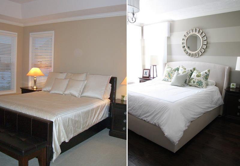 image named 14 Jaw Dropping Master Bedroom Before and After Pictures title