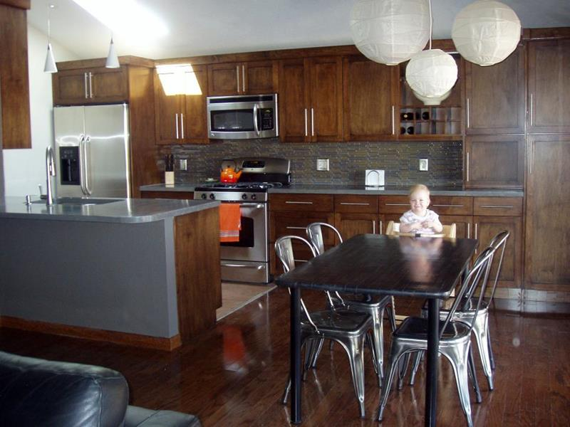 image named 14 Stunning Kitchen Before and After Pictures 2
