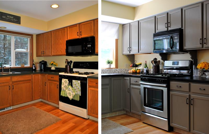 image named 14 Stunning Kitchen Before and After Pictures title