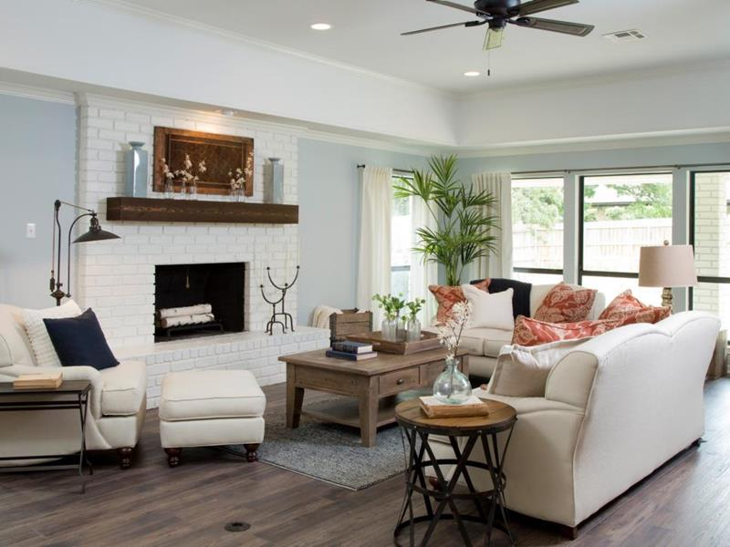 image named 14 Stunning Living Room Before and After Pictures 4