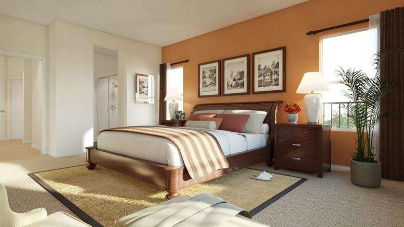 image named 15 Eye Catching Master Bedroom Accent Walls 10