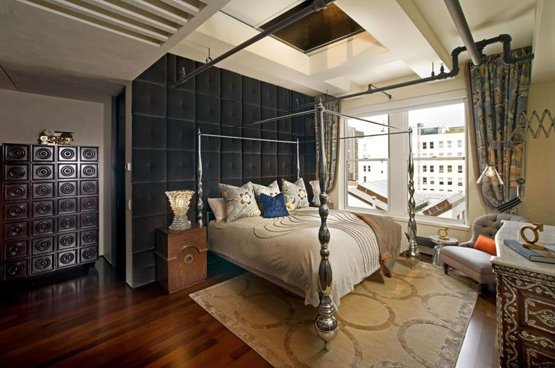 image named 15 Eye Catching Master Bedroom Accent Walls 14