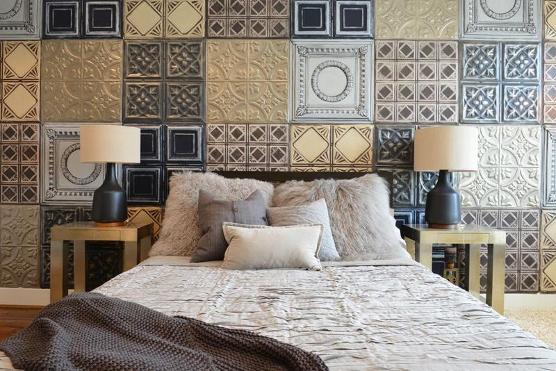 image named 15 Eye Catching Master Bedroom Accent Walls 15
