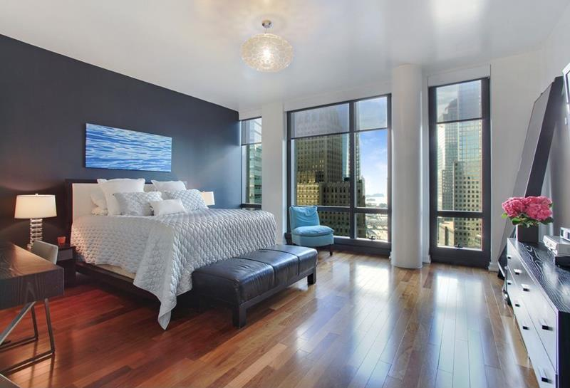image named 15 Eye Catching Master Bedroom Accent Walls 2