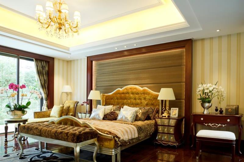 image named 15 Eye Catching Master Bedroom Accent Walls 4