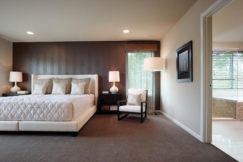 image named 15 Eye Catching Master Bedroom Accent Walls 8
