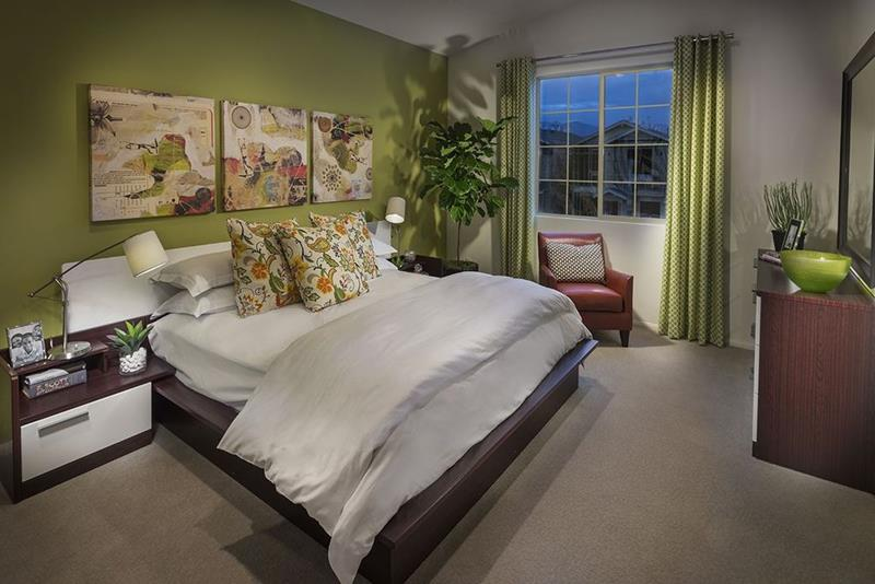 image named 15 Eye Catching Master Bedroom Accent Walls 9