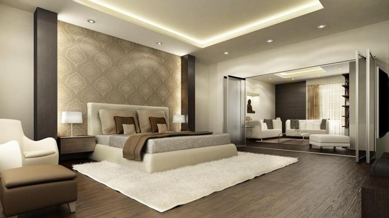 image named 15 Eye Catching Master Bedroom Accent Walls title