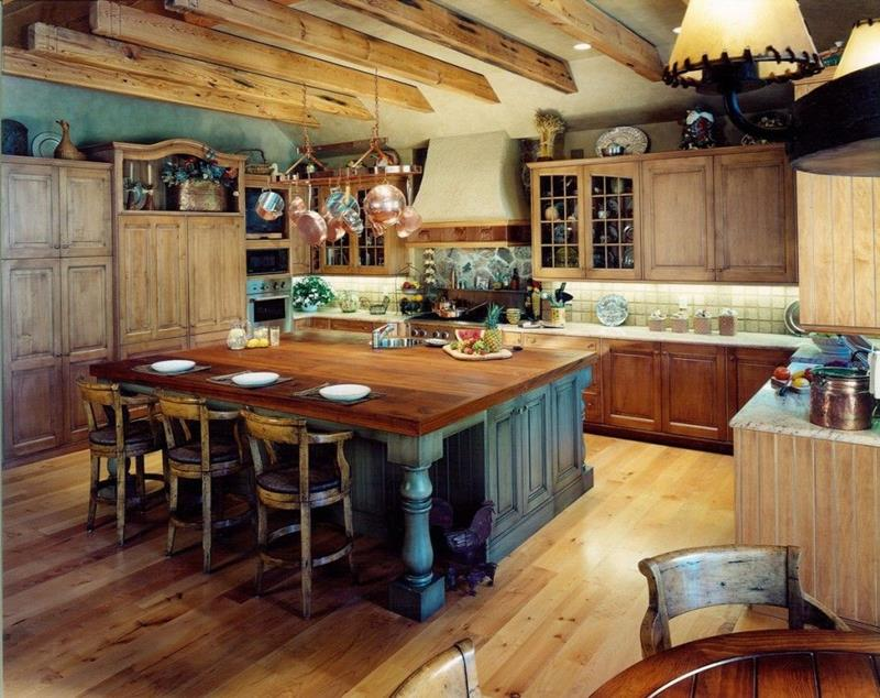 image named 15 Gorgeous Kitchen Islands title