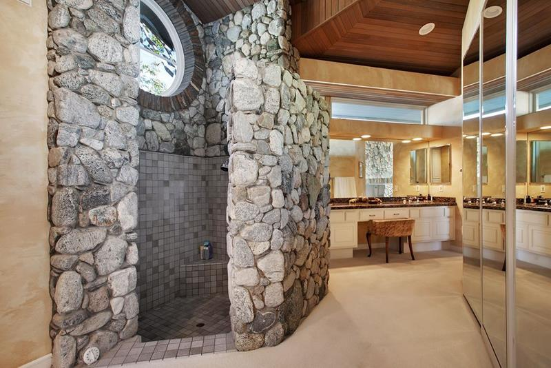 image named 15 Stunning Master Bathrooms with Walk In Showers title