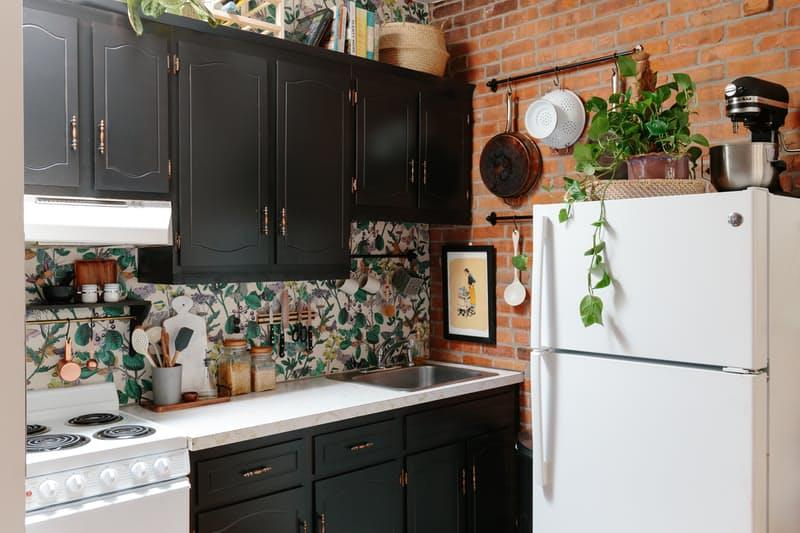 image named 10 Pictures of a 300 Rental Kitchen Transformation title