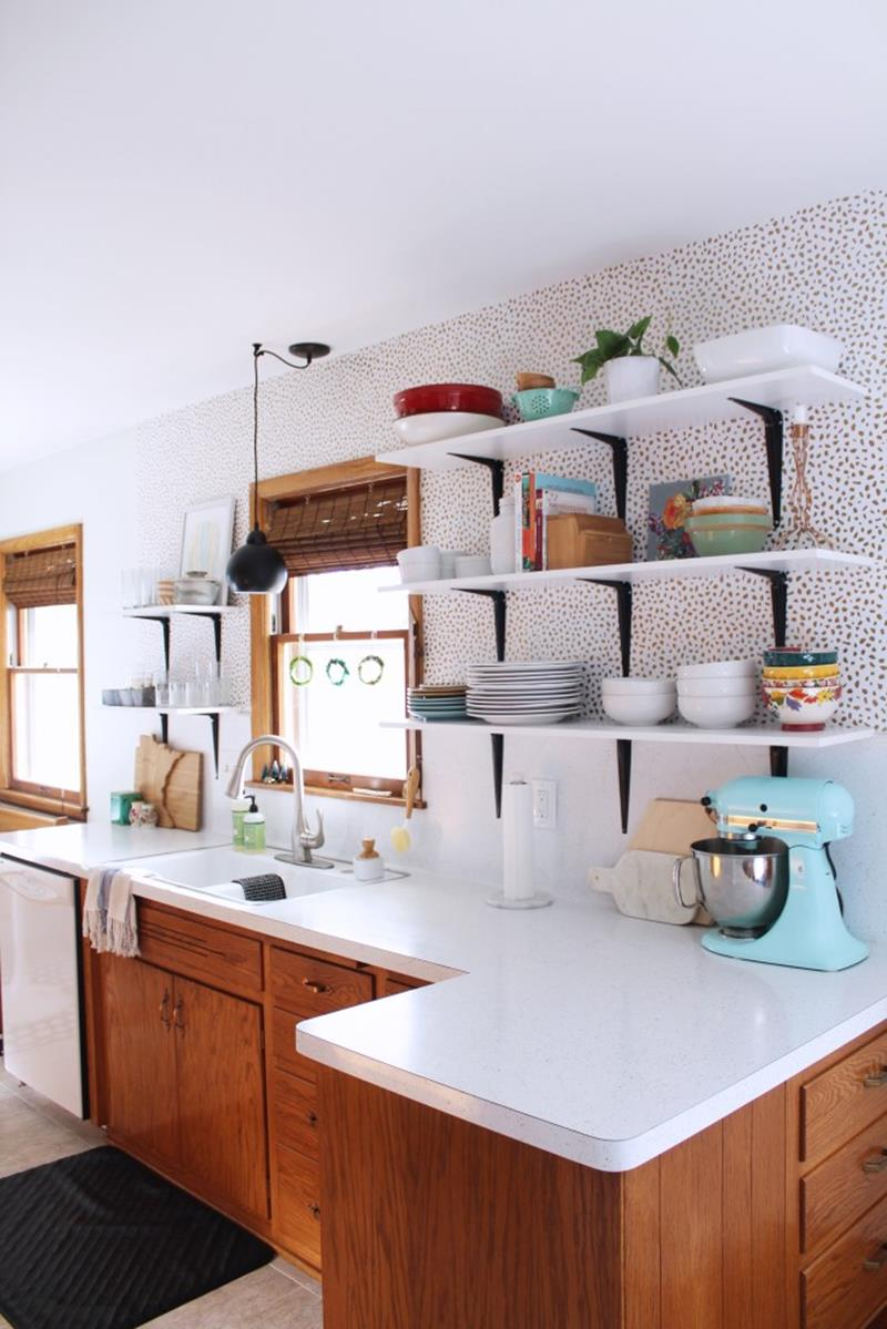 image named 15 Pictures of an Amazing 200 Kitchen Remodel title