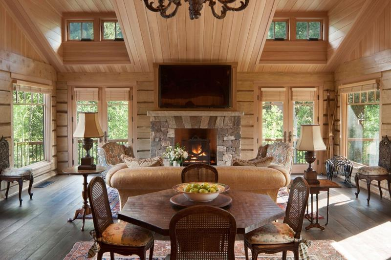 image named 20 Beautiful Examples of Country Chic Home Interiors 14