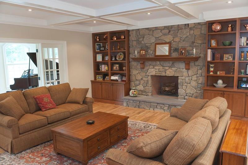 image named 20 Gorgeous Living Rooms with Fireplaces 11