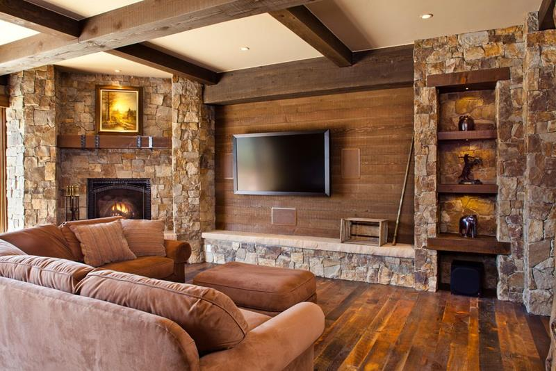 image named 20 Gorgeous Living Rooms with Fireplaces 2