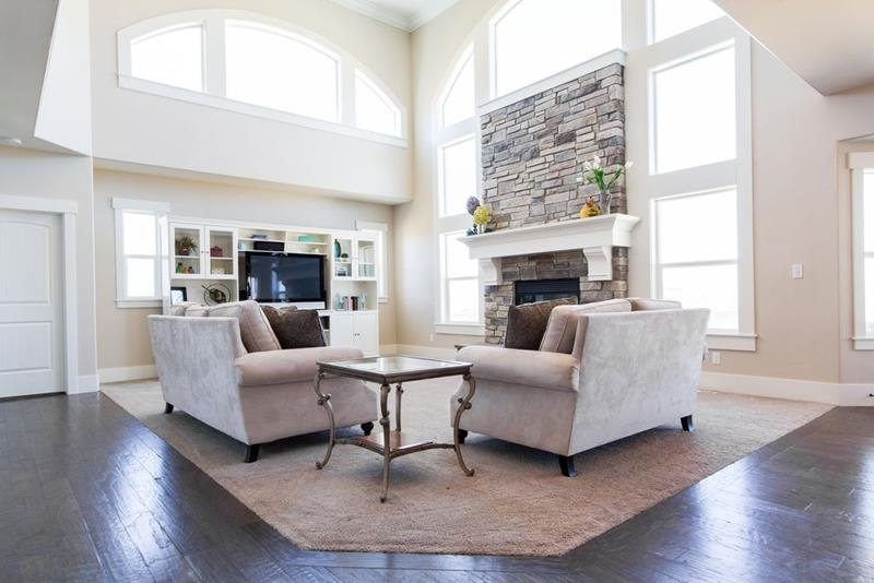 image named 20 Gorgeous Living Rooms with Fireplaces 20