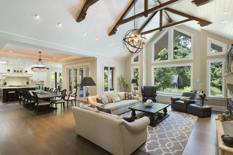 image named 20 Gorgeous Open Concept Rooms 20