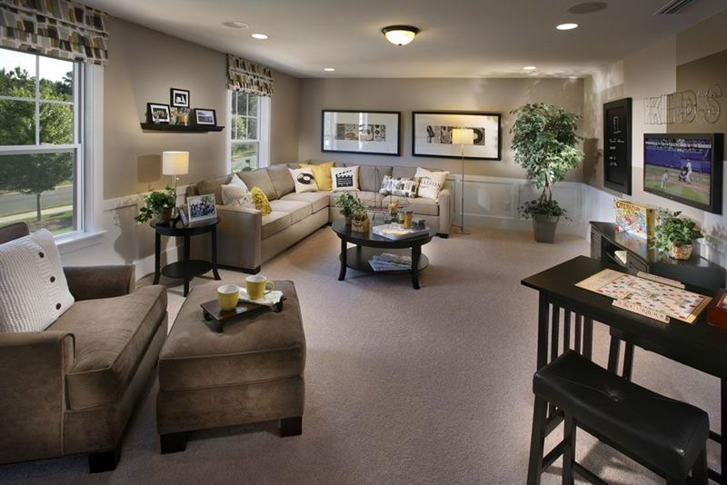 image named 20 Jaw Dropping Family Room Designs 8