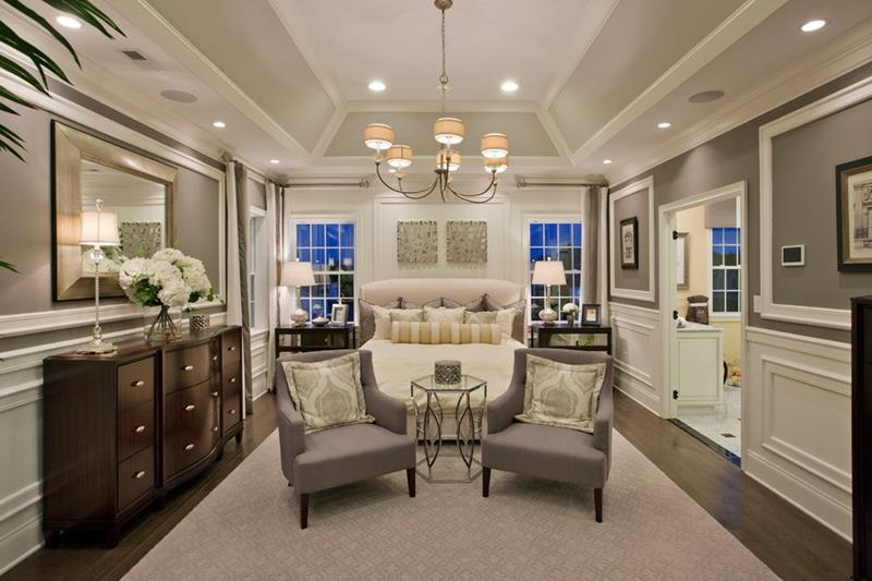 image named 20 Amazing Luxury Master Bedroom Design Ideas 2
