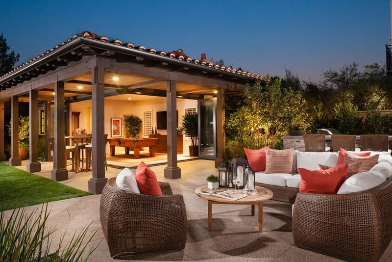 image named 20 Gorgeous Backyard Patio Design Ideas 10