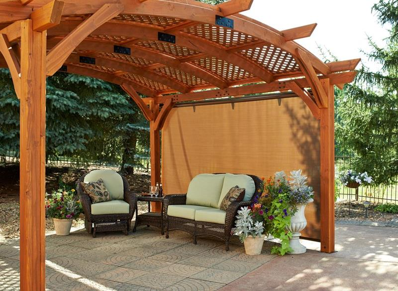 image named 20 Gorgeous Backyard Patio Design Ideas 11