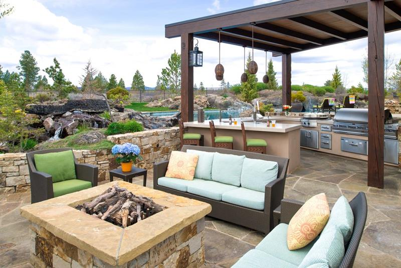 image named 20 Gorgeous Backyard Patio Design Ideas 12