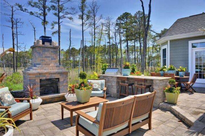 image named 20 Gorgeous Backyard Patio Design Ideas 3 e1594576194827