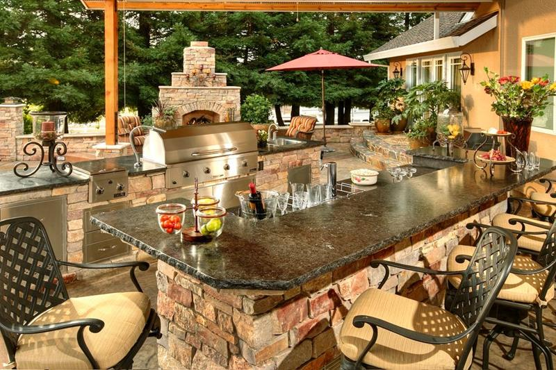 image named 20 Gorgeous Backyard Patio Design Ideas 6