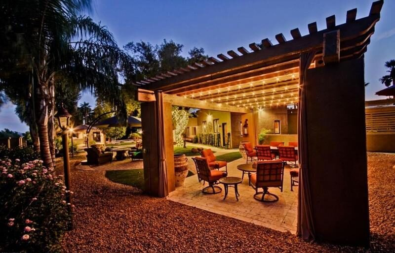 image named 20 Gorgeous Backyard Patio Design Ideas title e1595509356527