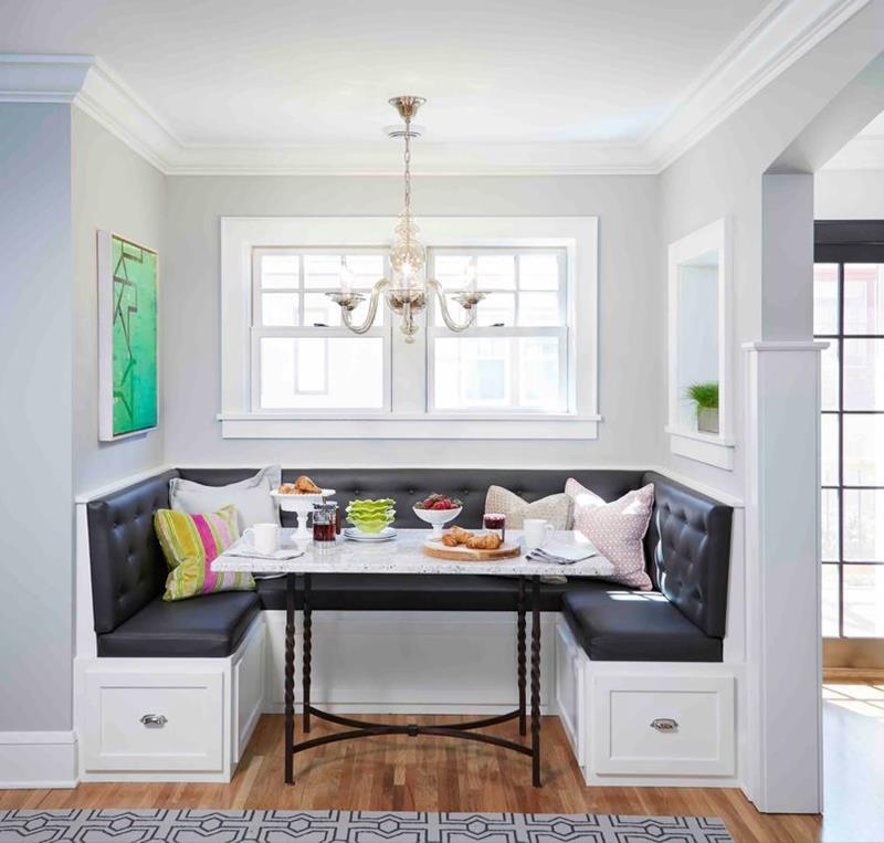 image named 20 Gorgeous Breakfast Nook Designs and Ideas 3
