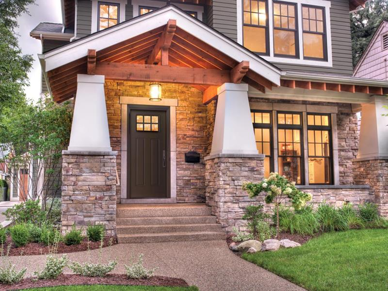 image named 20 Home Exterior Ideas with Loads of Curb Appeal 3