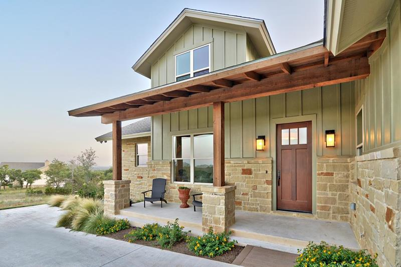 image named 20 Home Exterior Ideas with Loads of Curb Appeal 5
