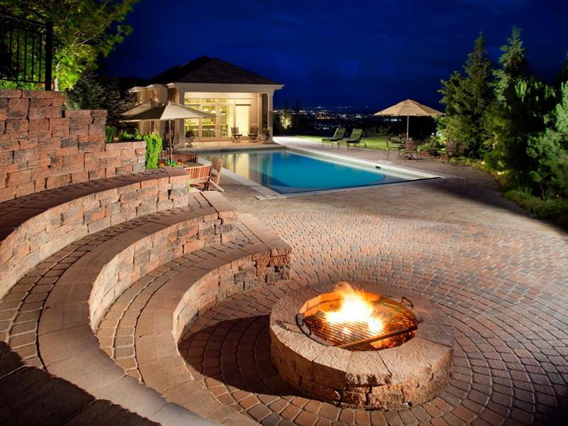 image named 20 Perfect Backyard Fire Pit Ideas title