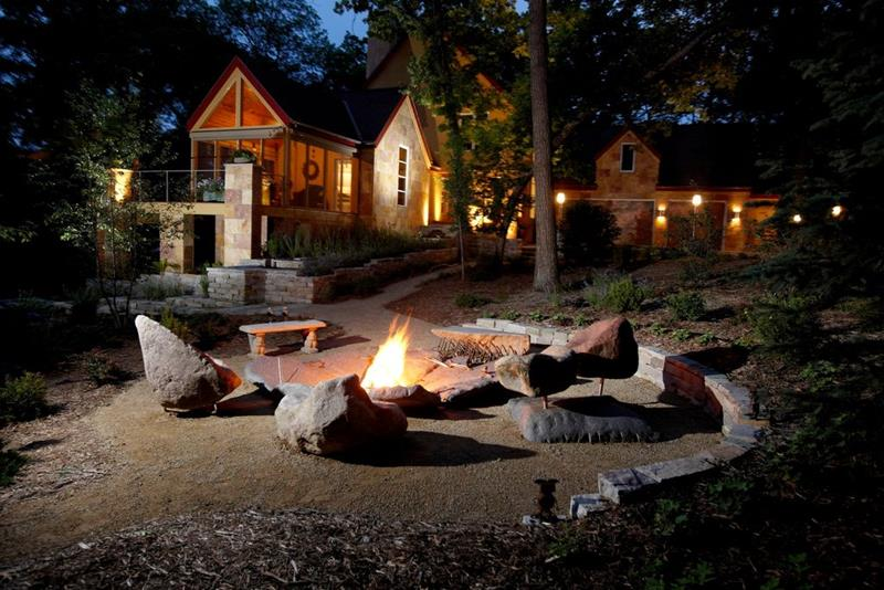 image named 20 Stone Fire Pit Ideas 1