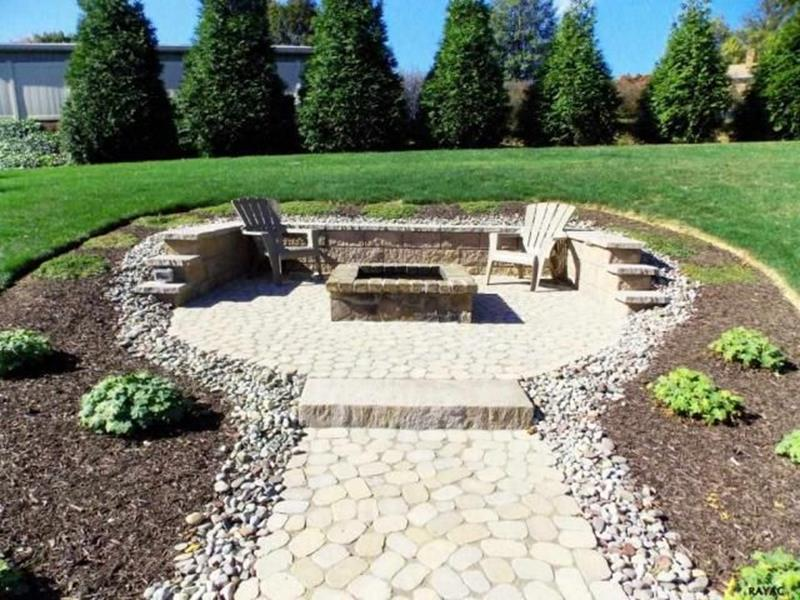 image named 20 Stone Fire Pit Ideas 4